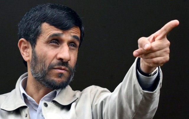 Ahmadinejad is at it again: 'Homosexuality is against the human spirit'