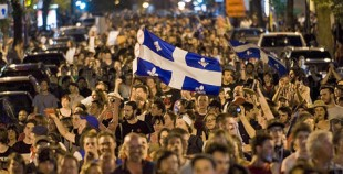 Quebec Students and Supports take the streets