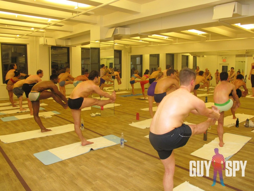 GuySpy at STIFF Bikram Yoga Herald Square
